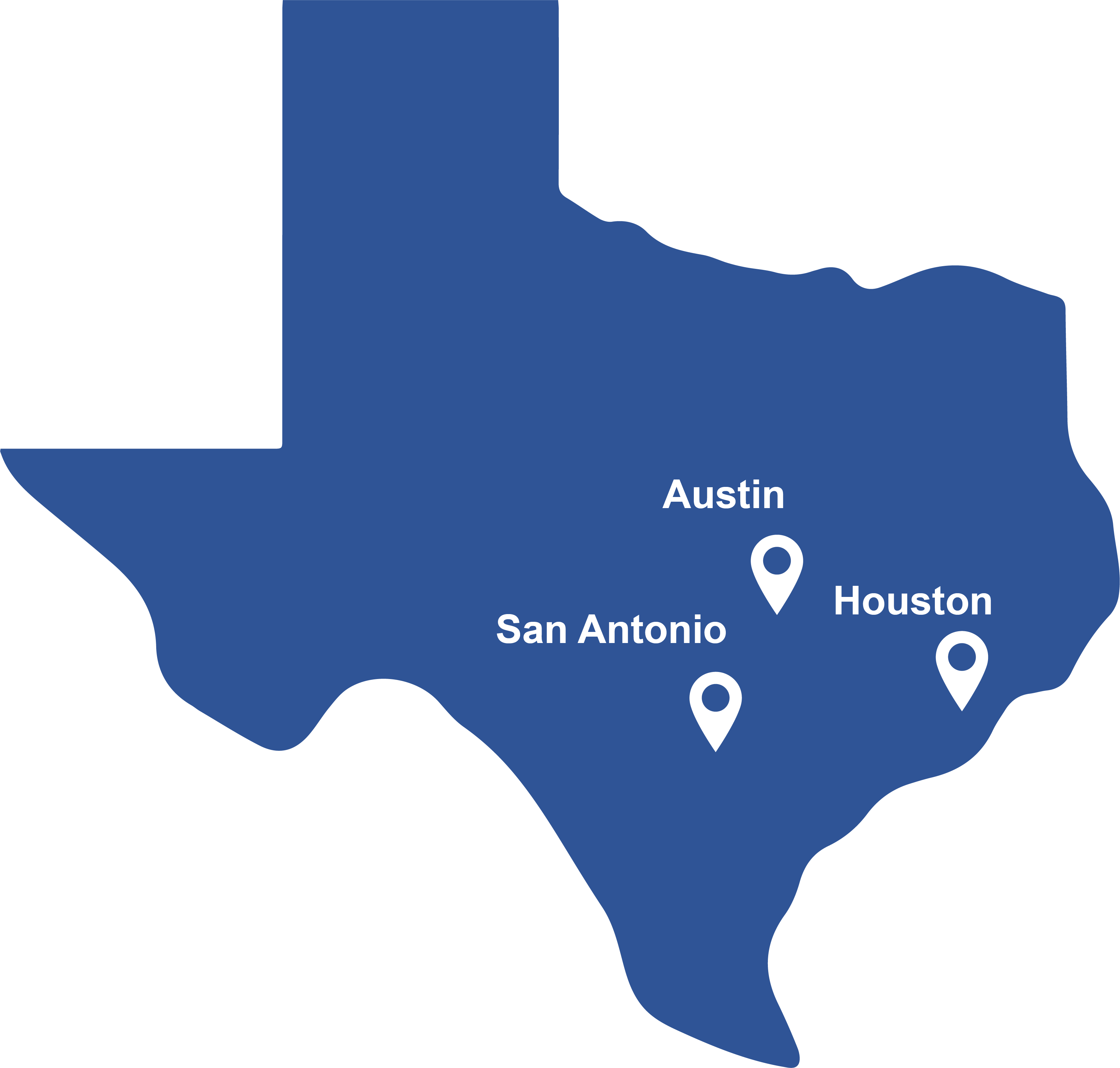 Areas we service _ Connected realty